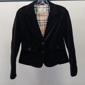 Suede Burberry blazer. WJ3